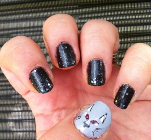 Game of Thrones Stark Manicure