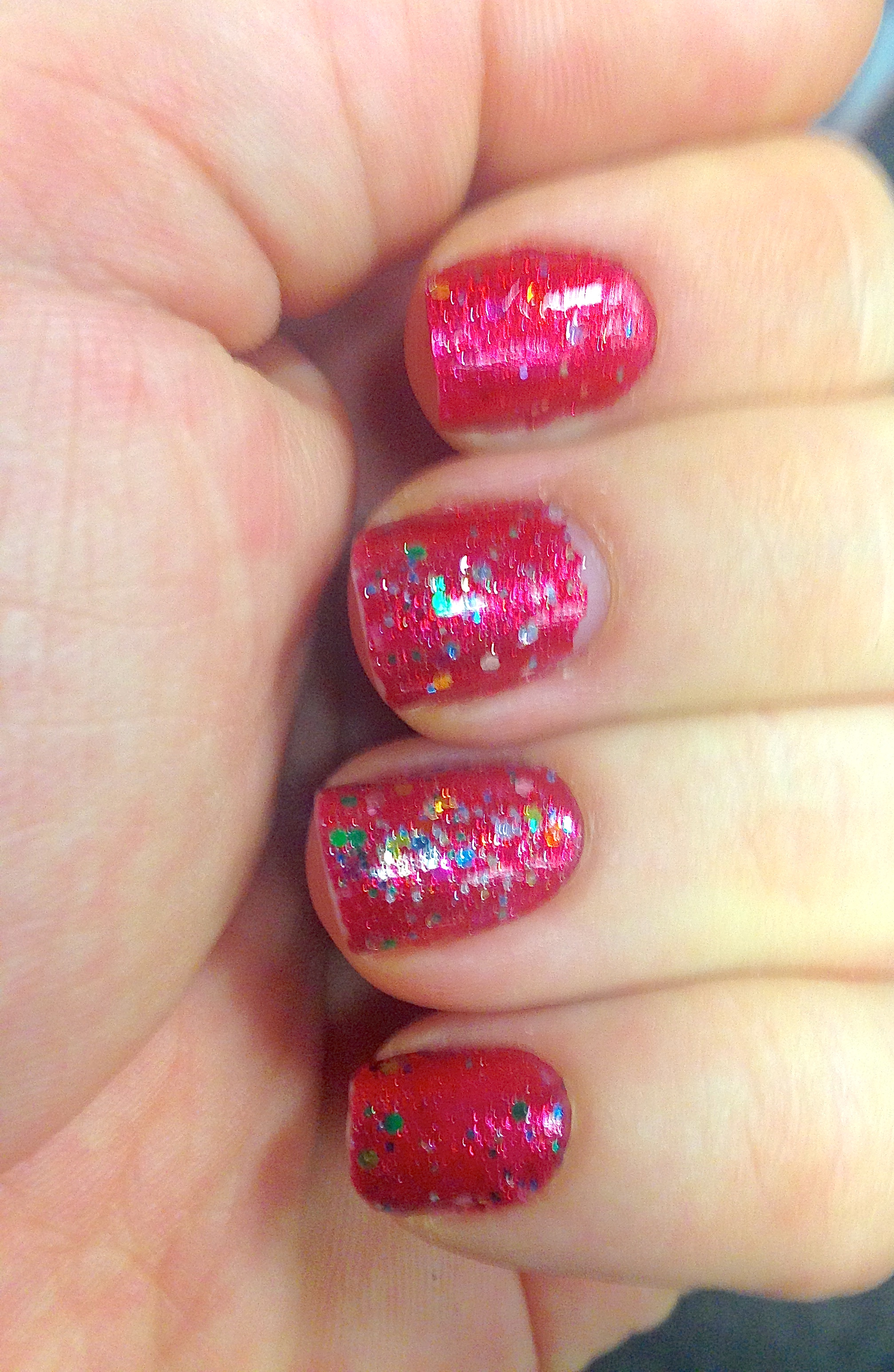 glitter   Making the most of what I\'ve got