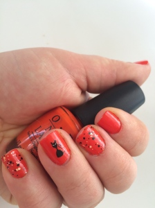 easy halloween nail art roll in the hague